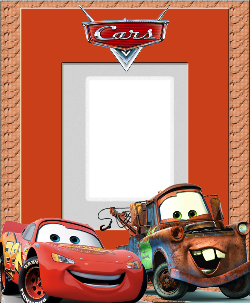 Disney Frames | moldura-digital-carros-cars-disney-frame-fotos-red ...