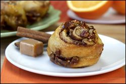 Nutty Caramel-Coated Sticky Buns created just for YOU by Hungry Girl. Awwwww...
