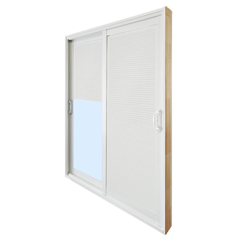 Stanley Doors 72 In X 80 In Double Sliding Patio Door With