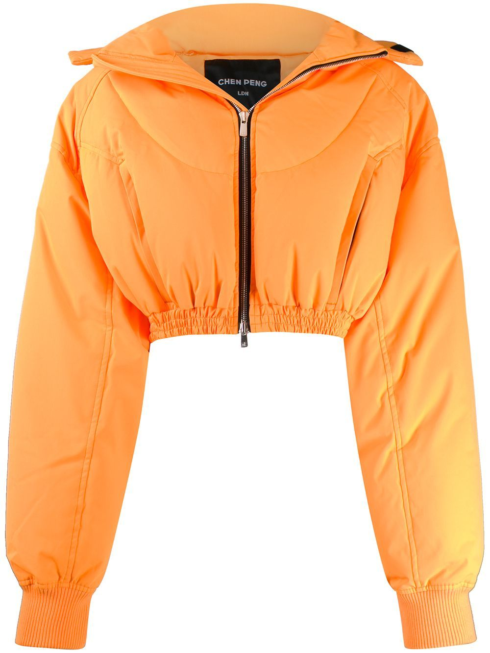 Chen Peng Cropped Puffer Jacket Farfetch Cropped Puffer Jacket Hipster Outfits Aesthetic Clothes [ 1334 x 1000 Pixel ]