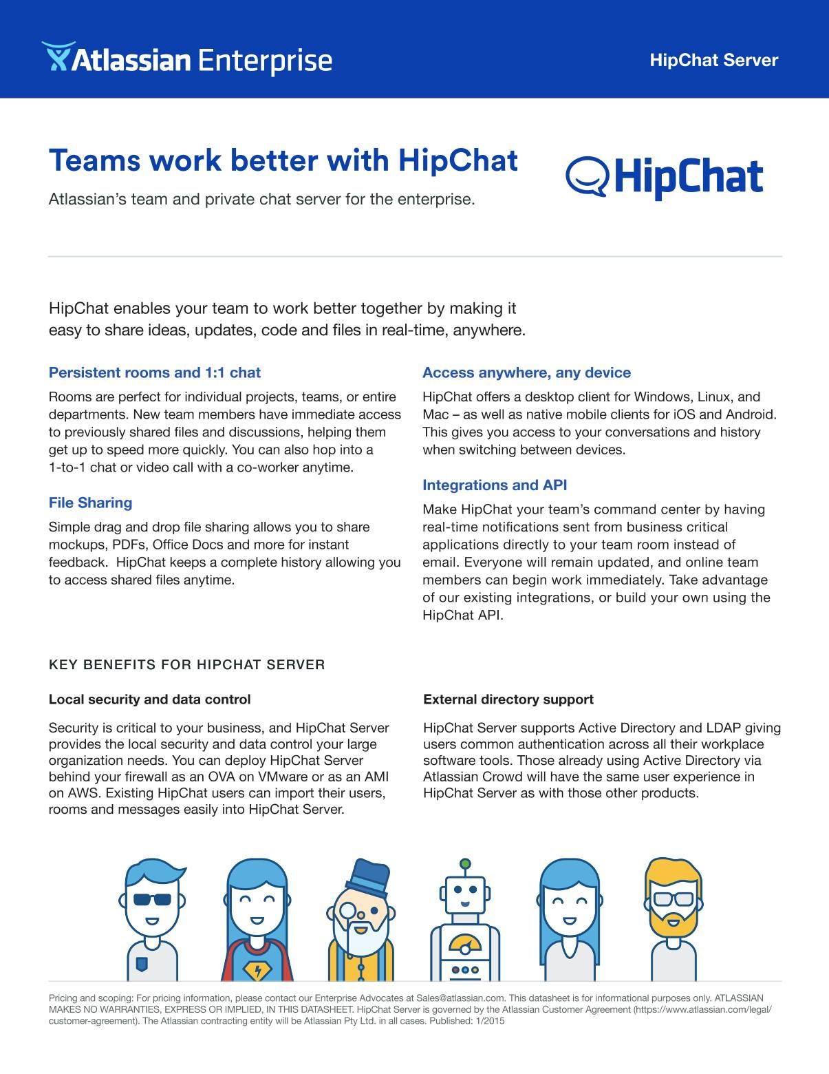 Hipchat Server Infos Knowledge Hints Best Practices Atlassian Confluence Confluence Knowledge Server