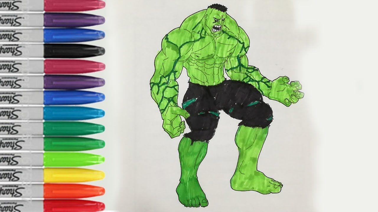 Incredible hulk coloring book pages - Incredible Hulk Coloring Book Page Hulk Gets Angry Sailany Coloring Kids