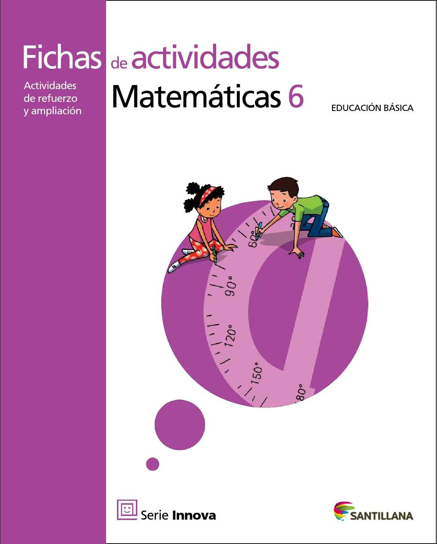 Pin En Practicando Matematica 6