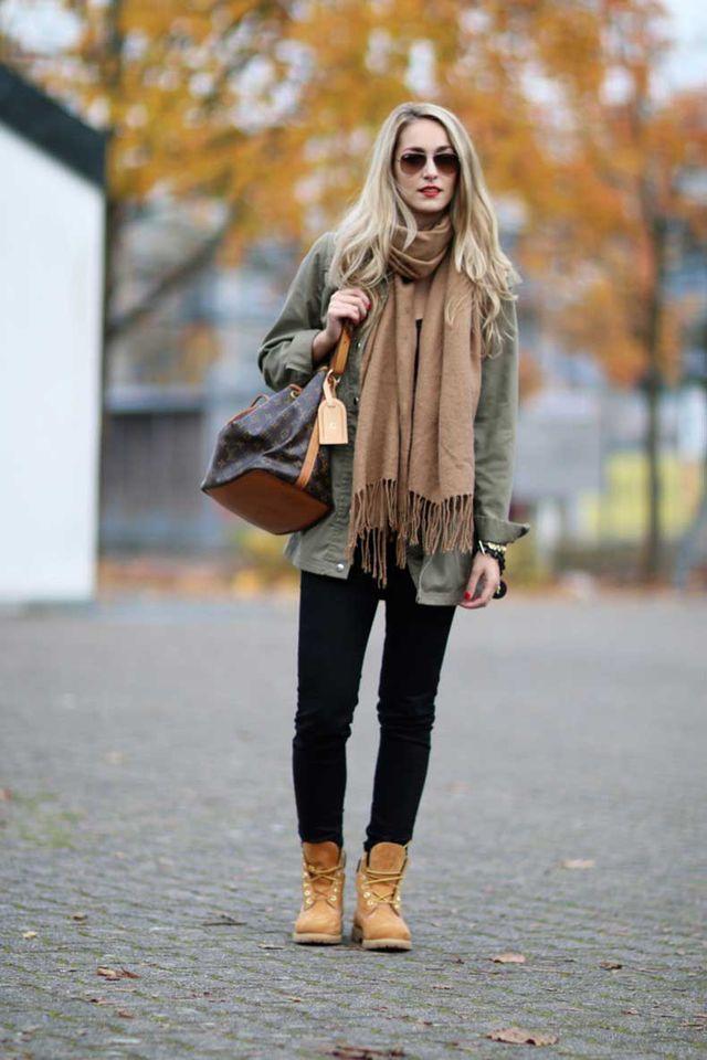 timberland femme tenue
