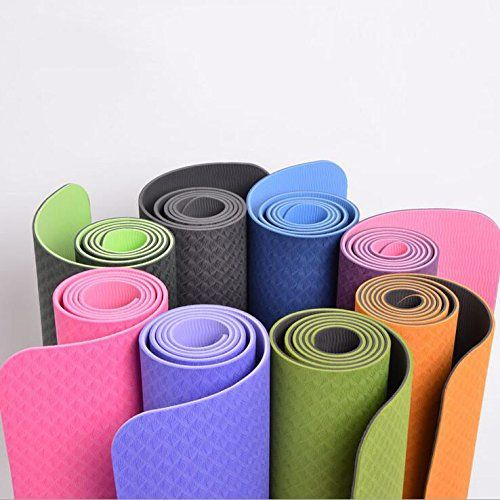 Dalakin Yoga Mat Meditation Exercise Pad Thick Nonslip Gym Fitness Durable Pilates Tpegrass Green Want To Know More Click On The Imag Meditation Exercises Gym Workouts Yoga Tips