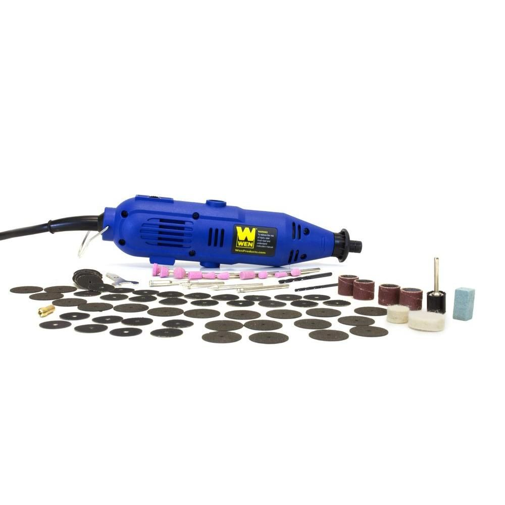 WEN 101-Piece Rotary Tool Kit with Variable Speed, $15