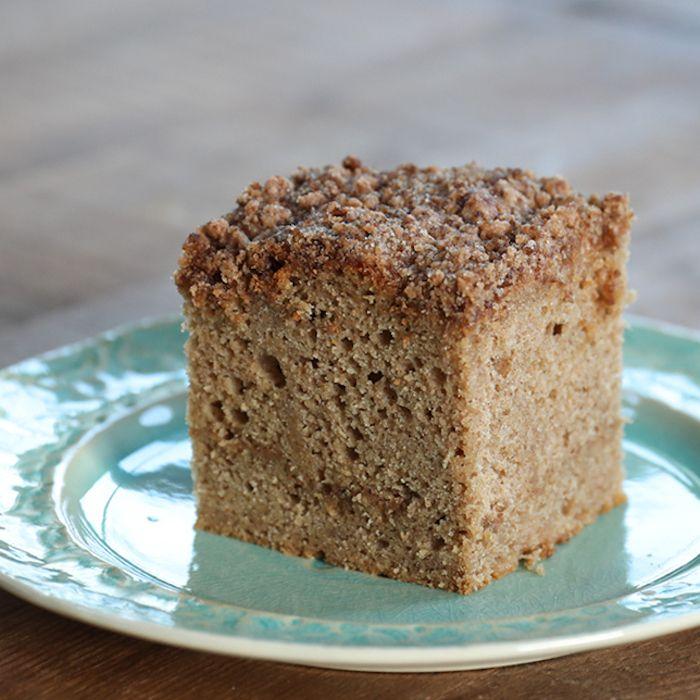 Gluten Free Sour Cream Coffee Cake Recipe In 2020 Sour Cream Coffee Cake Coffee Cake Coffee Cake Recipes