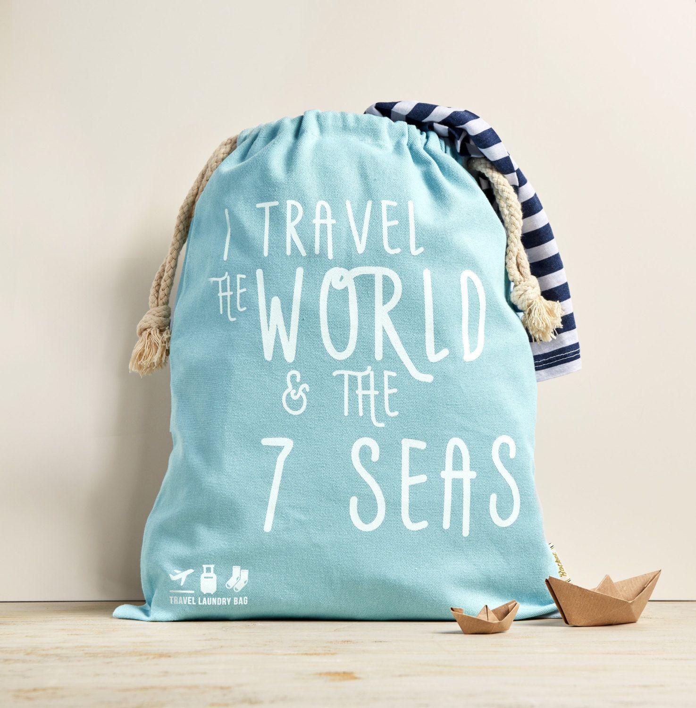 Travel Laundry Bag I Travel The World Laundry Bag Laundry Bag