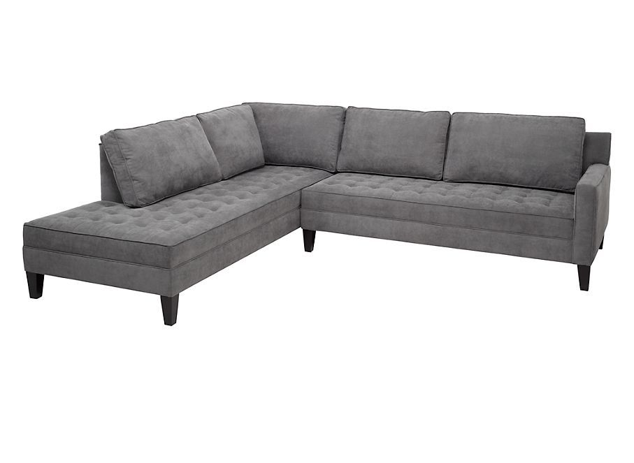 Z Gallerie - Vapor Sectional My New Modern Grey Couch! | Ideas For