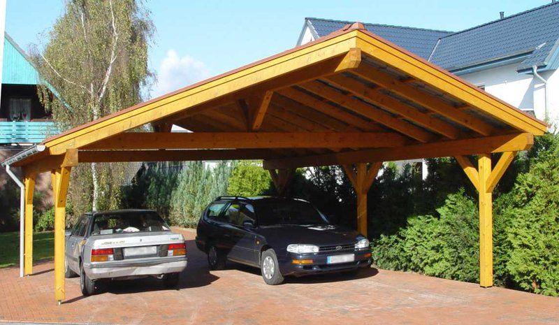 Inexpensive 2 Car Wood Carport Kit For Amusing Carports