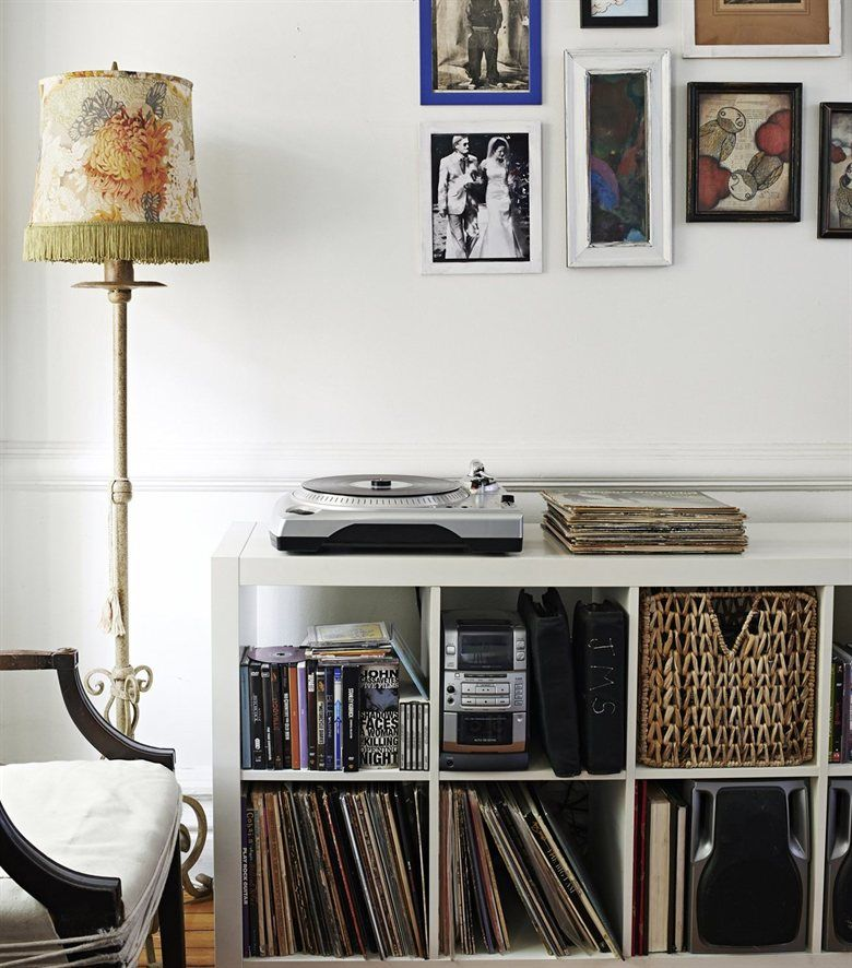 Ikea Kallax Perfect For Records Basement Home Decor