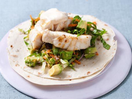 Sauteed fish tacos make it seafood pinterest fish for Fish taco sauce yogurt