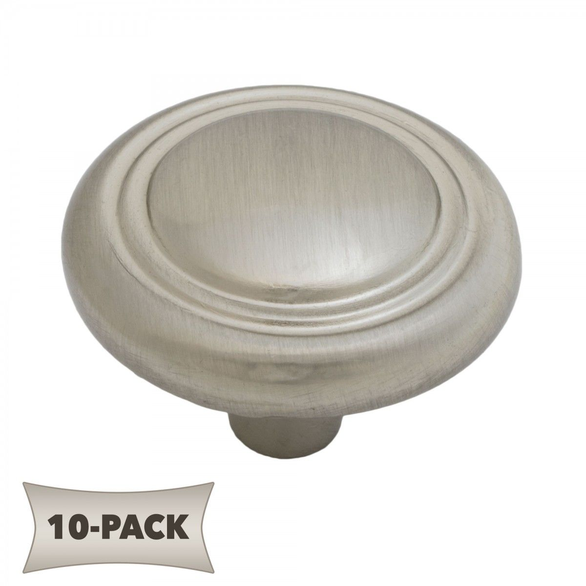 ultra hardware 10 pack button rimmed round kitchen cabinet hardware mushroom knob 1 1 4 inch satin nickel ultra hardware 10 pack button rimmed round kitchen cabinet      rh   pinterest com