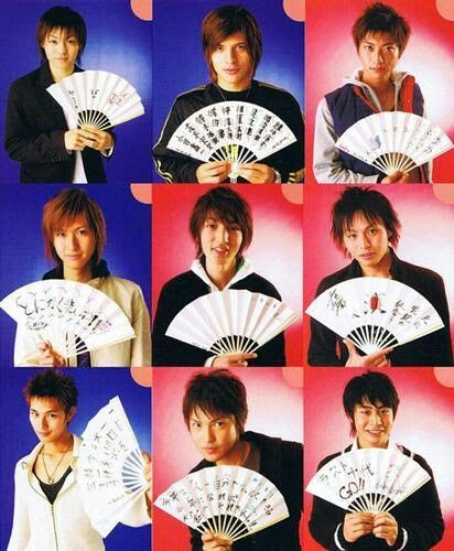 Cast Of Prince Of Tennis Musical Actors Archive Pinterest