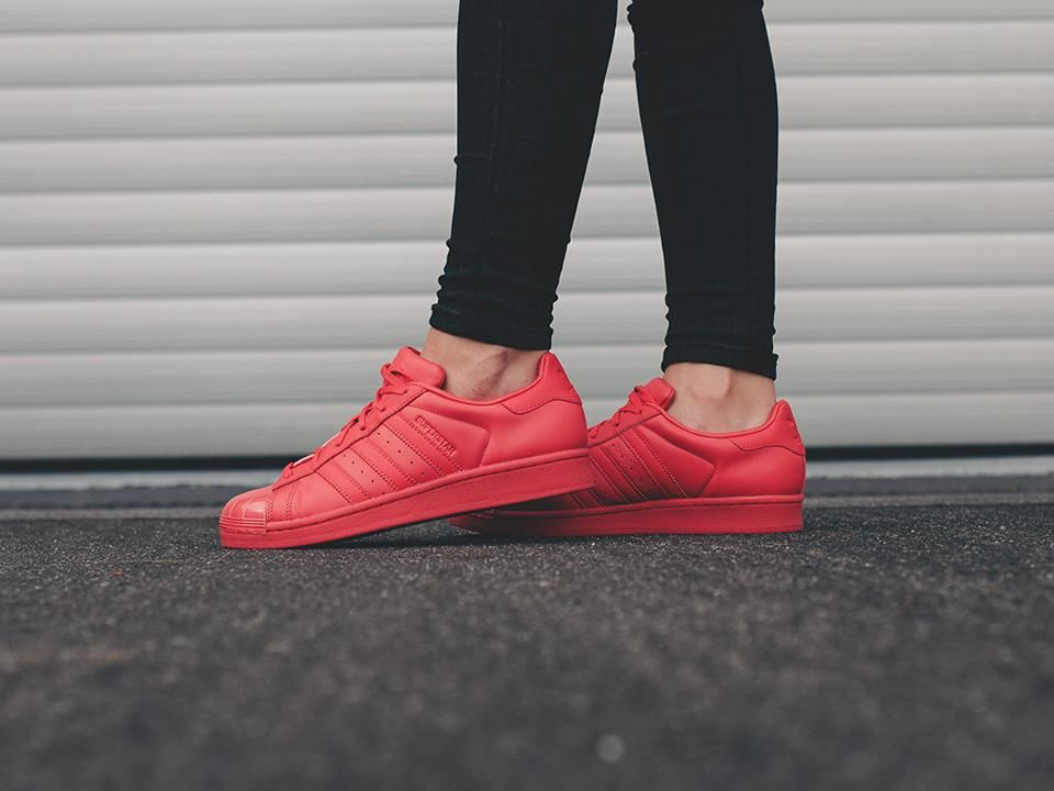 Athlokinisi Adidas Superstar Red Sporty Outfits Superstars Shoes