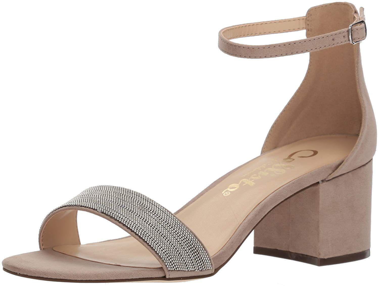 Callisto Women S Jazmine Heeled Sandal Elegant Day To Evening Covered Block Heel Sandal With Single Strap Va Sandals Heels Heels Shoes Sandals Heels