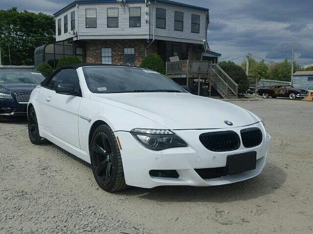 Salvage Forsale 2008 Bmw 650i Convertible Droptop Mseries