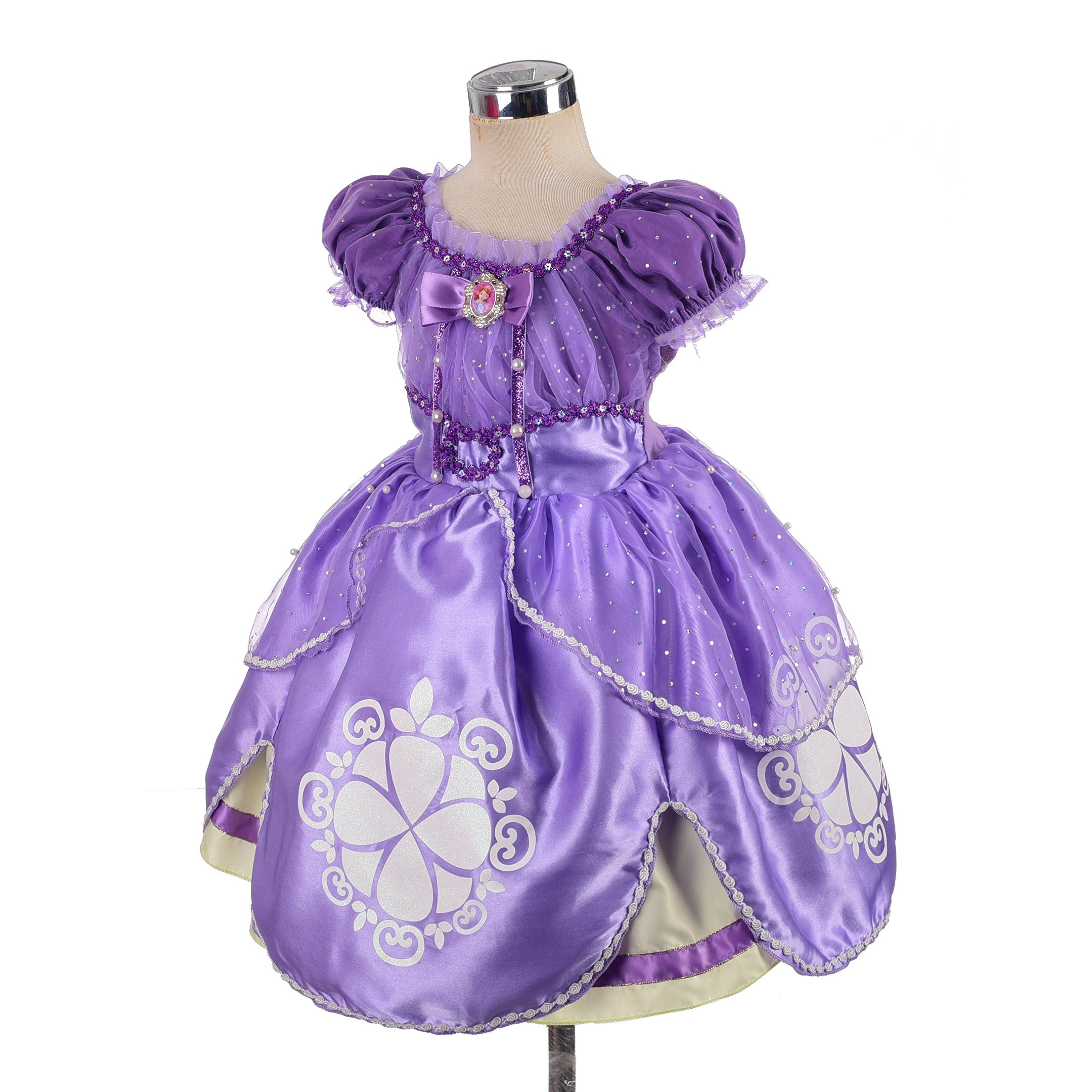 Lito Angels Girls Princess Sofia The First Dress Up Costume Cosplay Fancy Party Dress Outfit With Acc Fancy Dresses Party Dress Up Costumes Party Dress Outfits [ 2560 x 2560 Pixel ]