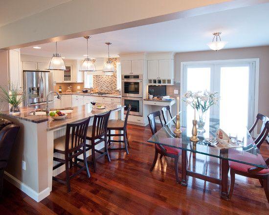 Open Floor Plan Split Level Kitchen Wall Removal Novocom Top