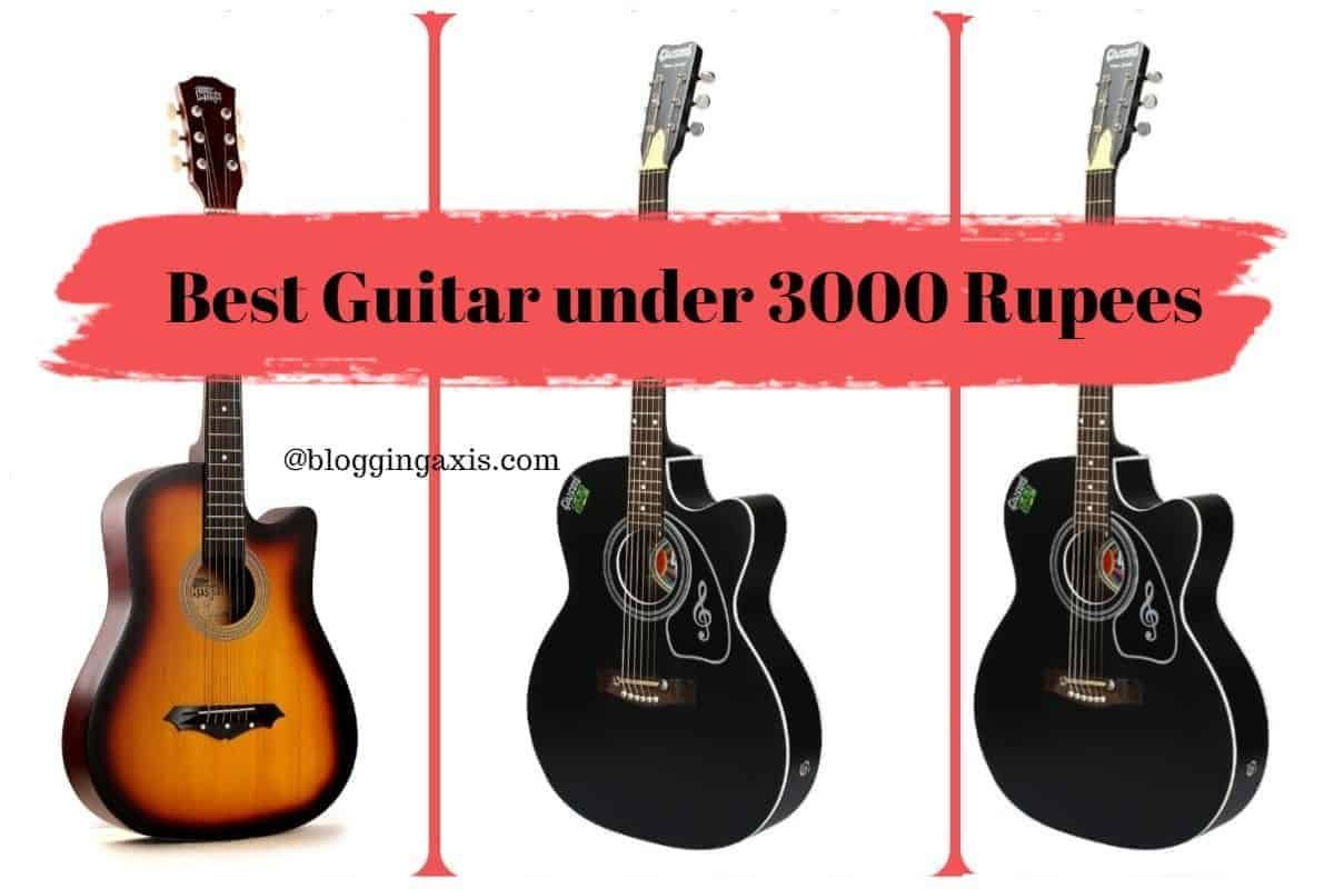 5 Best Acoustic Guitar Under 3000 Rupees In India Best Acoustic Guitar Guitar Prices Guitar