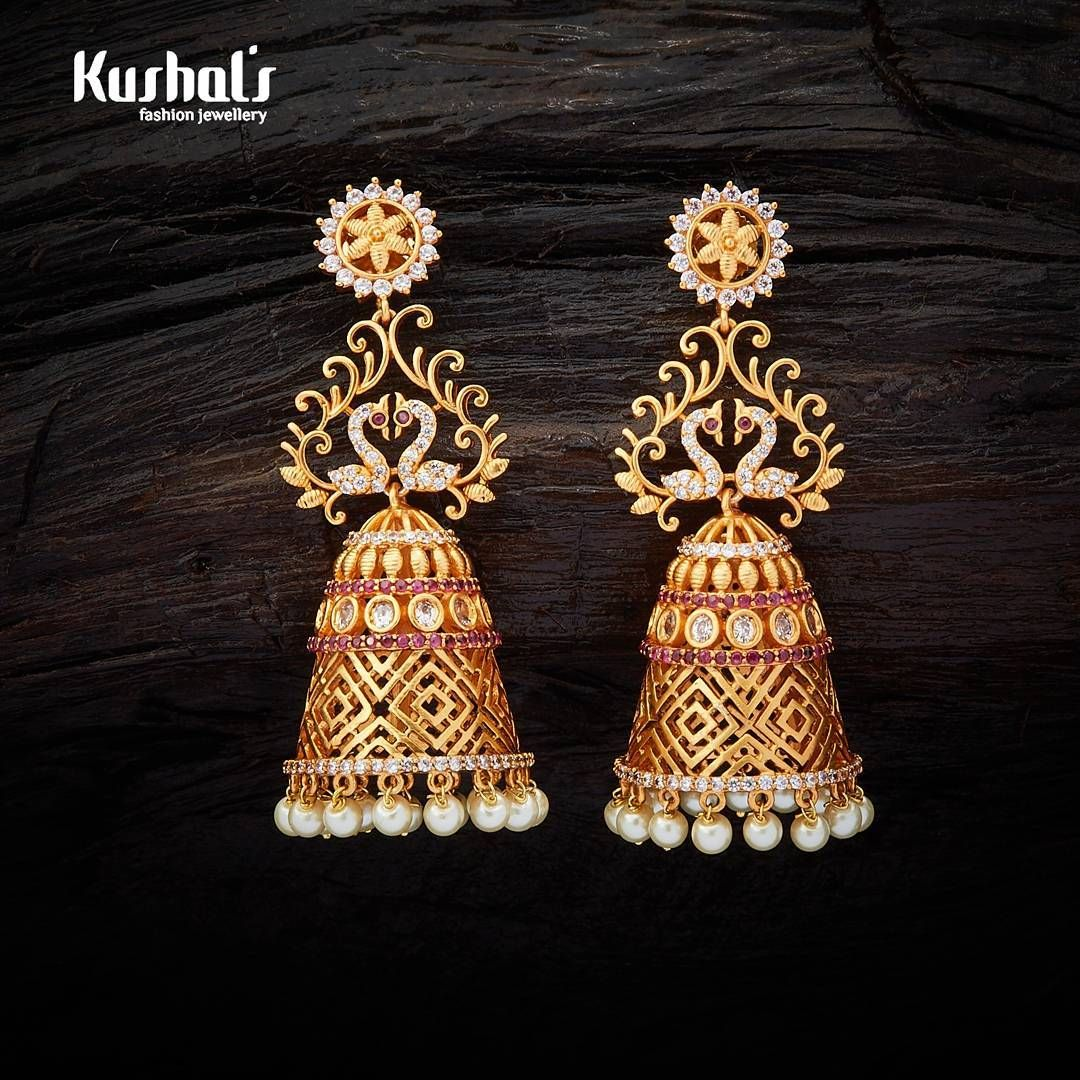 d24179e53b41a 9 Best Places to Buy Traditional Jhumkas Online | Designs | Jhumka ...