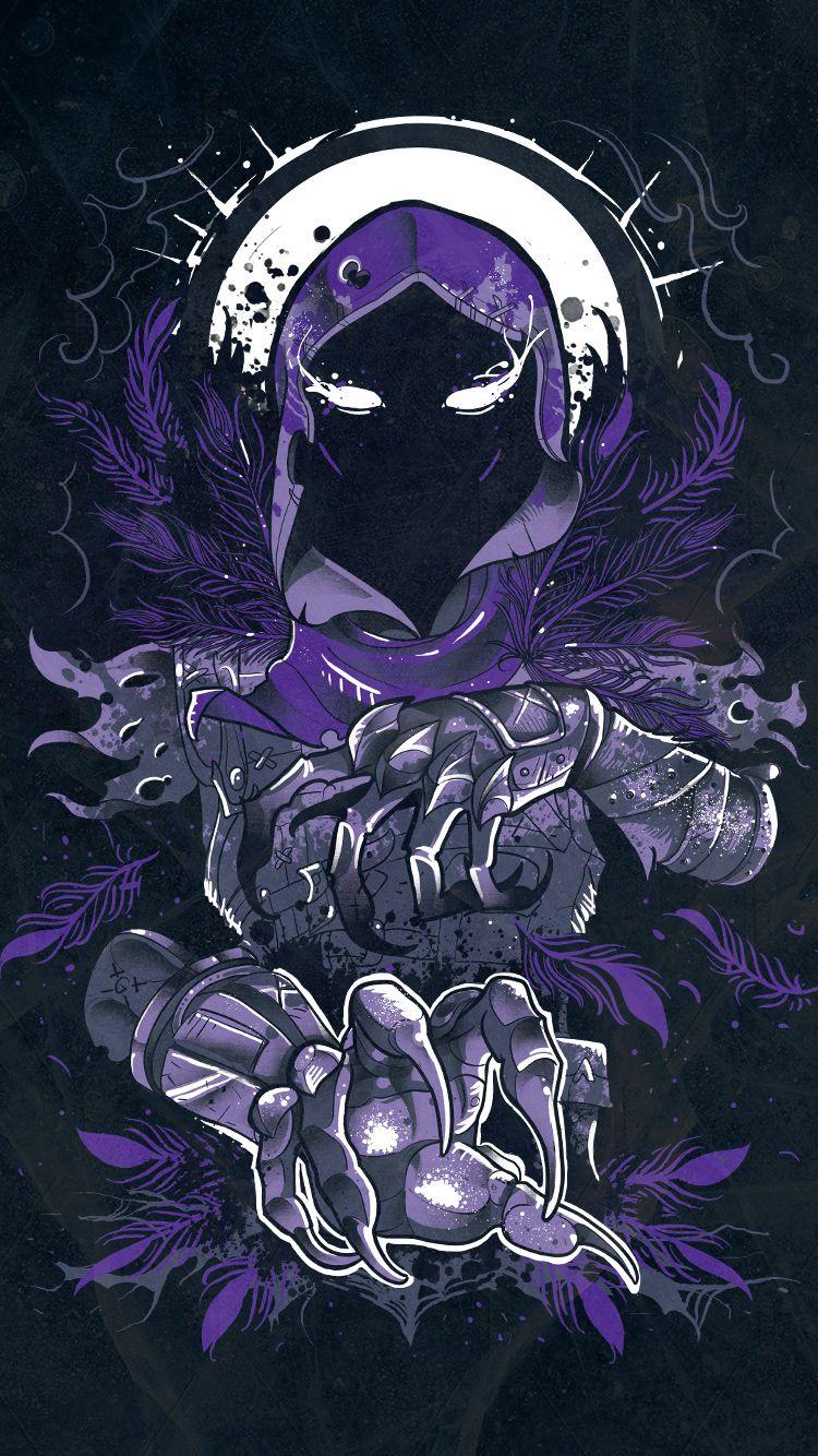 RAVEN on Behance Raven art, Gaming wallpapers, Game art