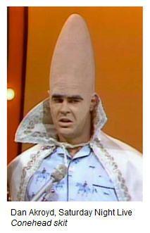 Best of Dan Aykroyd SNL onehead | Beldar Conehead... never a big ...