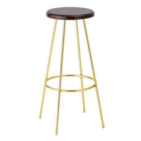 taburete bar stool gold | Taburetes - Stool | Pinterest | Color ...