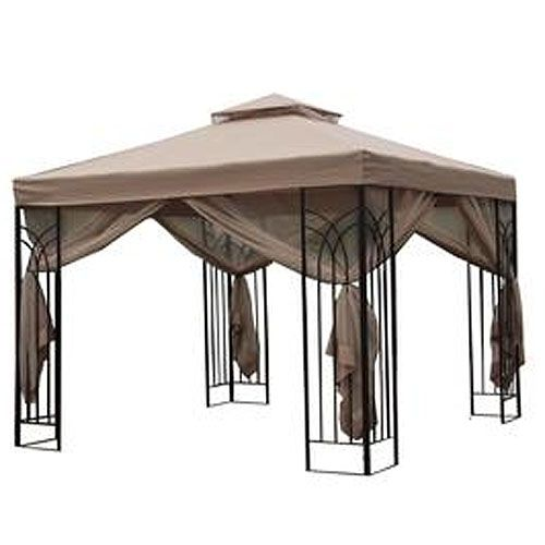 Home Depot 10 x 10 Trellis Gazebo Replacement Canopy  sc 1 st  Pinterest : patio canopy home depot - memphite.com
