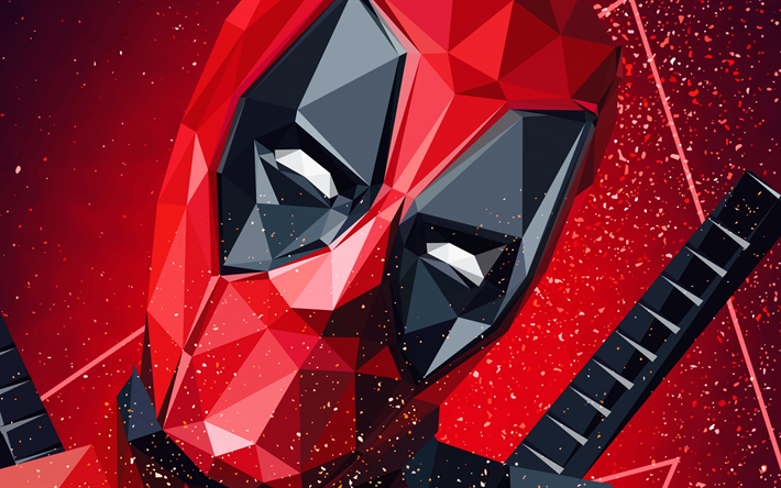 Download Wallpapers Deadpool Polygon Style Art Superhero Portrait Marvel Besthqwallpapers Com Deadpool Wallpaper Backgrounds Deadpool Wallpaper Deadpool Wallpaper Desktop