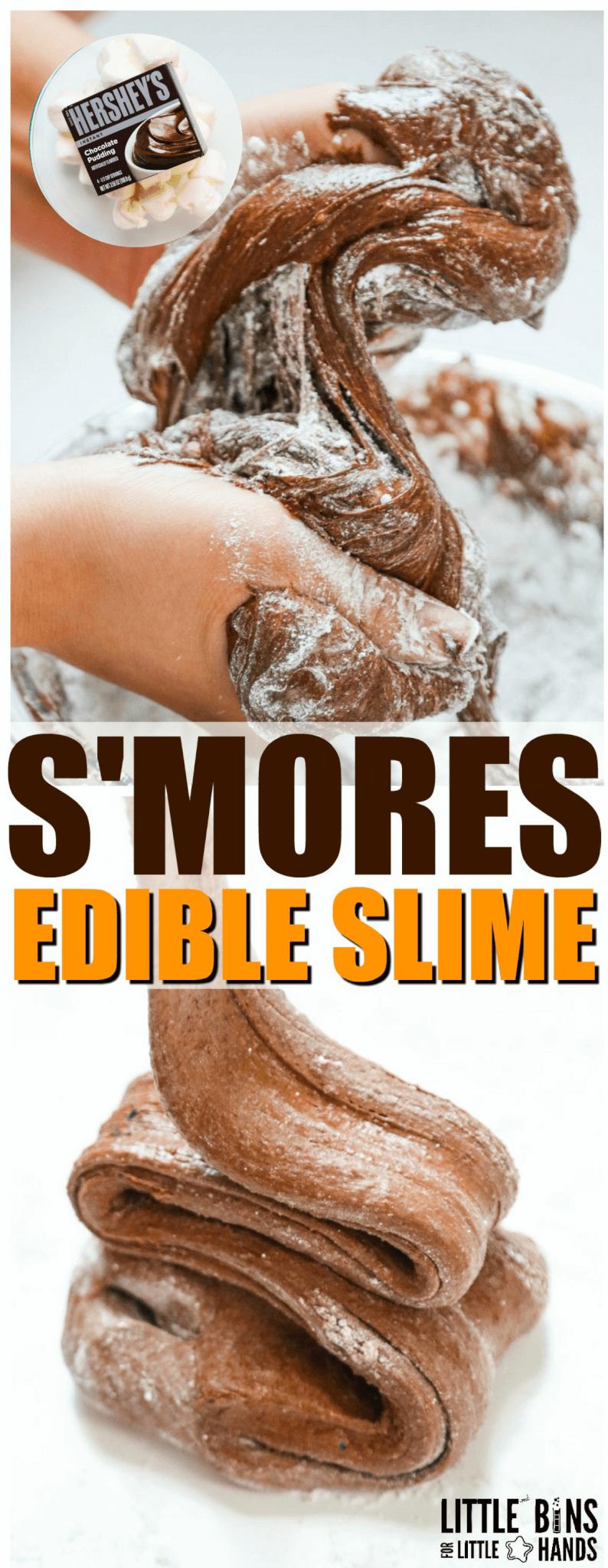 Edible Chocolate Slime Recipe – No Nutella!