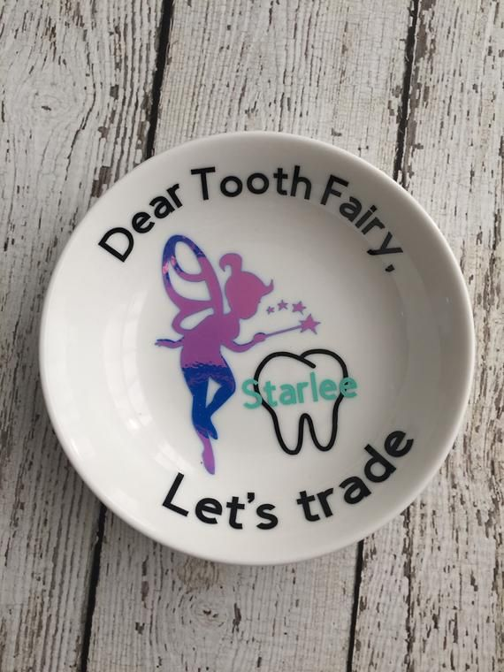 Personalized tooth fairy dish, tooth fairy pillow, tooth fairy dish, tooth keepsake, tooth fairy keepsake, tooth fairy plate