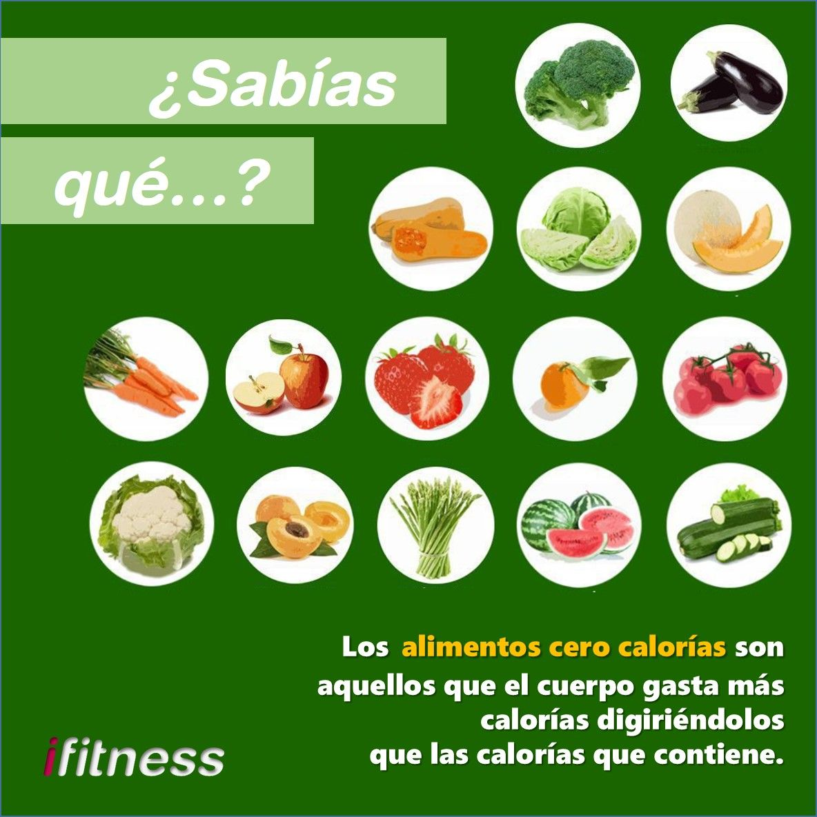Sab as qu los alimentos cero calor as son aquellos que el cuerpo gasta m s calor as - Calorias que tienen los alimentos ...