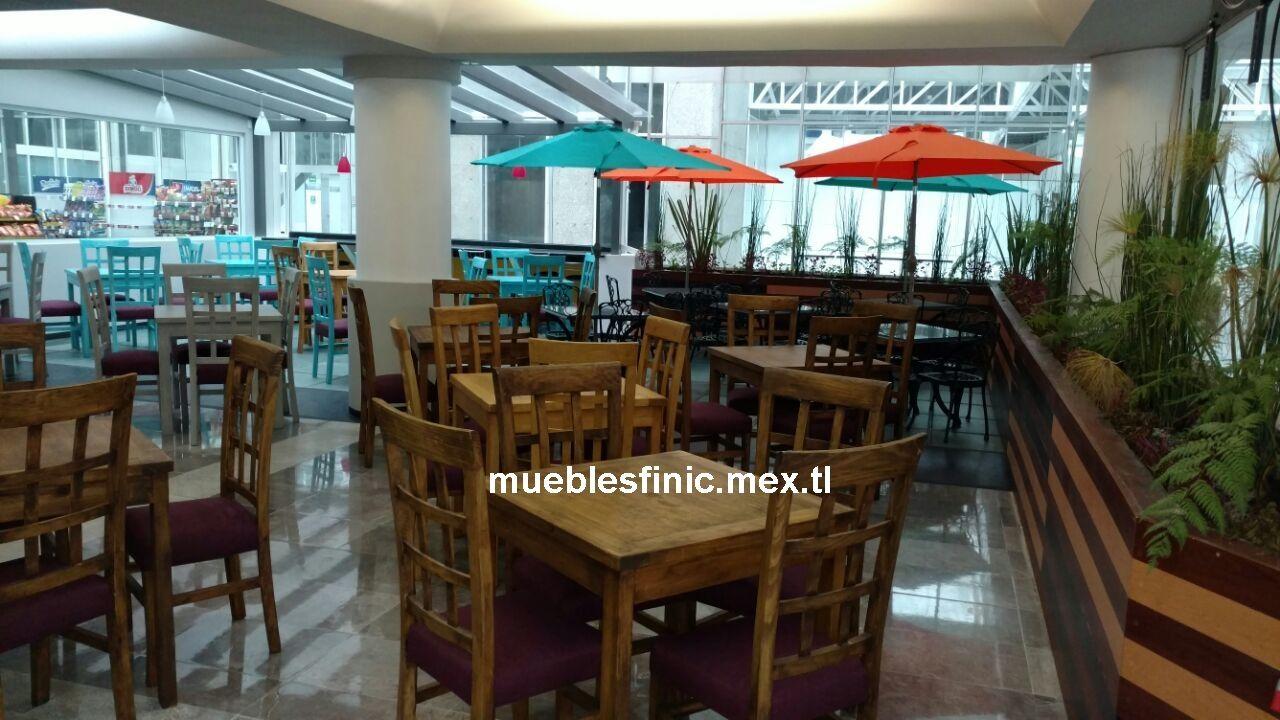Muebles Para Restaurantes Mesas Y Sillas Rusticas
