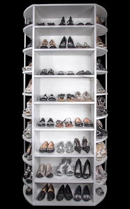 Shoe Storage Cabinet 360 Organizer By Lazy Lee Shoe Rack Shoe Storage Cabinet Spinning Shoe Rack