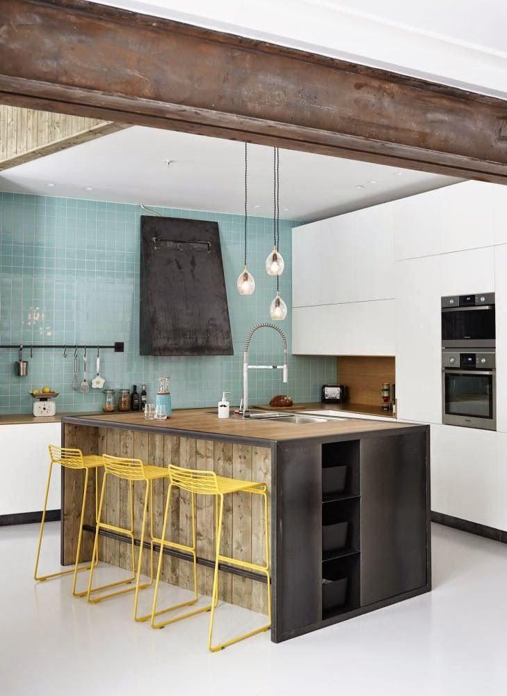 50 fotos de cocinas modernas pequeñas llenas de inspiración [2018 ...