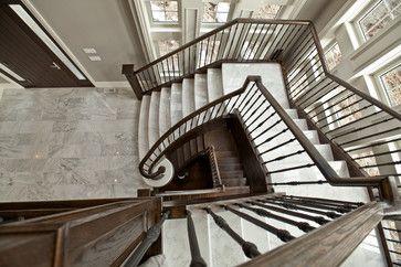 Barclay Fieldstone Estates Toronto Fourteen Estates Traditional Staircase Staircase House Design