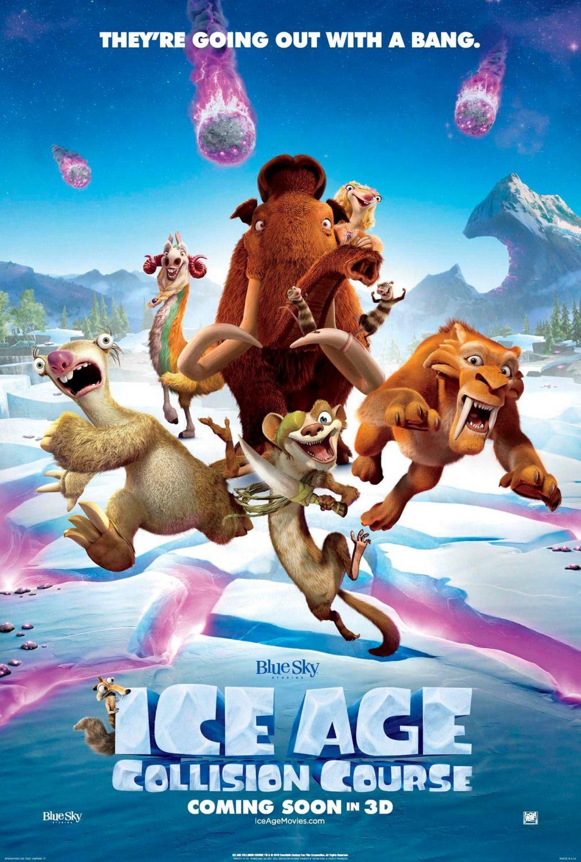 Ice Age Collision Course Com Imagens Cinema Infantil Filmes