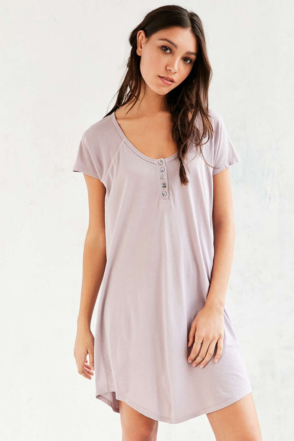 ec1c712be671 Truly Madly Deeply Henley T-Shirt Dress   urban outfitters obsessed ...