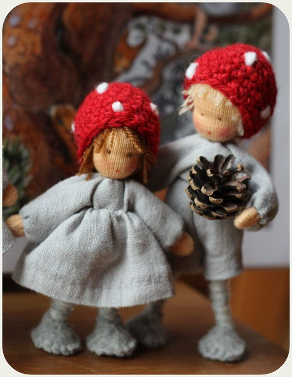 Children of the Forest. Reserved to Elizabeth . door Revesdepoupees