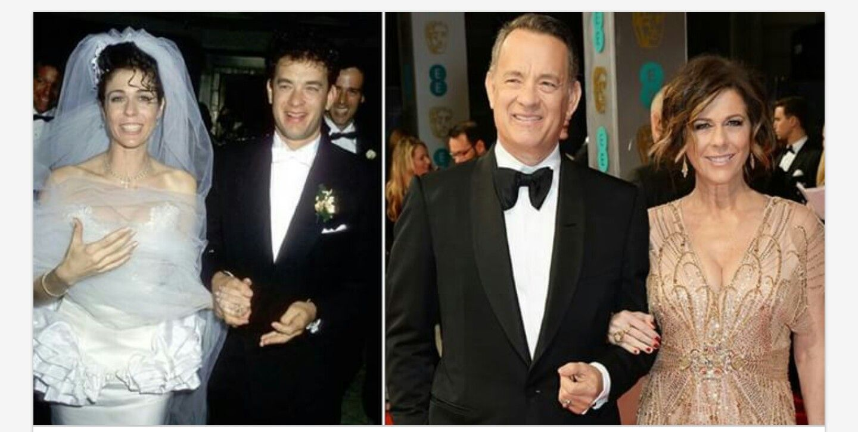 Rita Wilson and Tom Hanks... 29yrs
