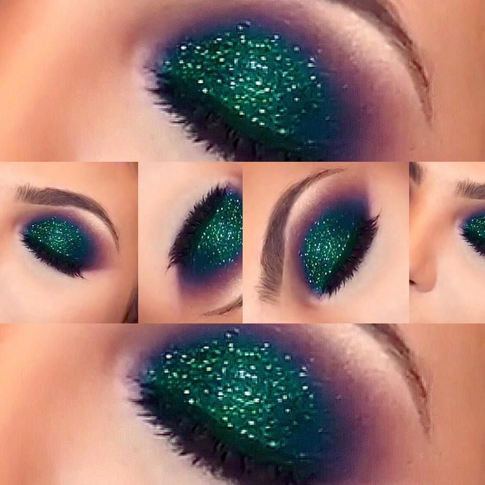 super stunning mermaid inspired eye makeup for halloween - Eyeshadow For Halloween