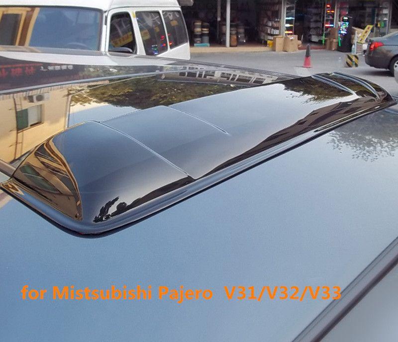 Car Sunroof Rain Deflectors Gruard Weather Shdows Acrylic Shields For  Mistsubishi Pajero V31/V32/