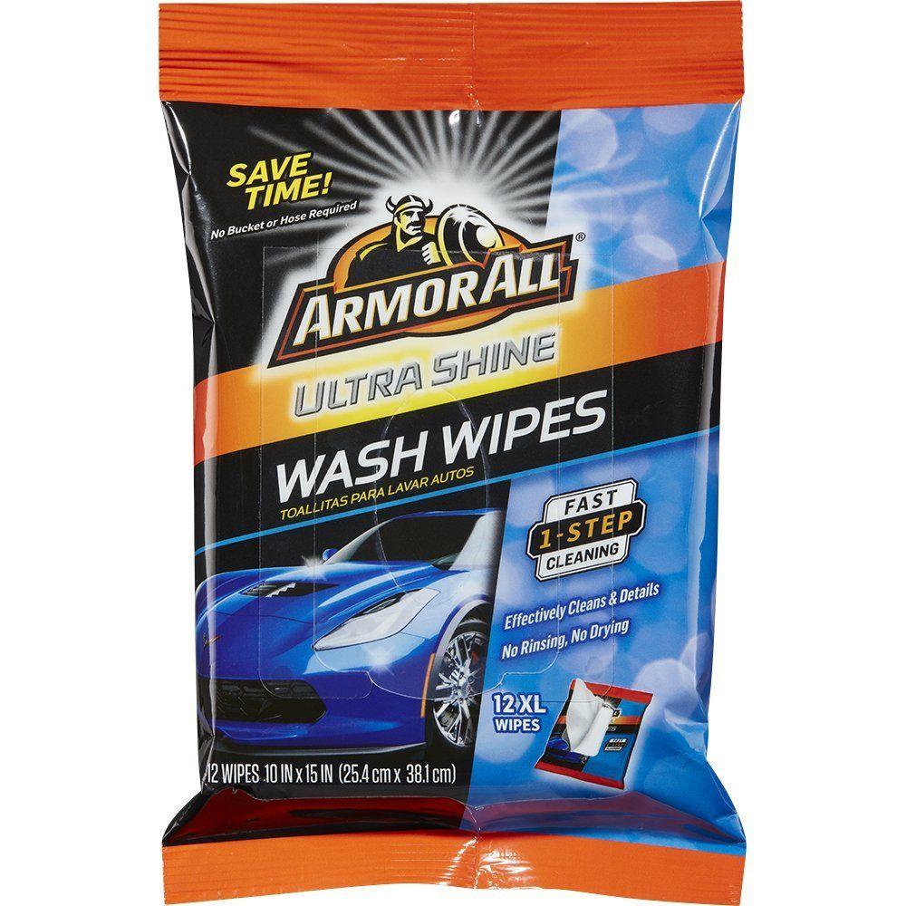 Amazon com armor all 18240 ultra shine wash wipes 12 xl wipes