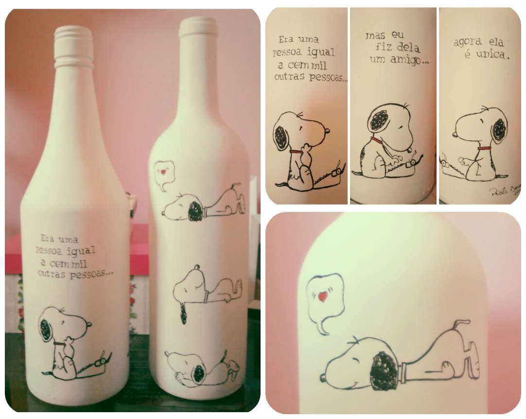 pintura em garrafas | artesanato | Pinterest | Botellas decoradas ...