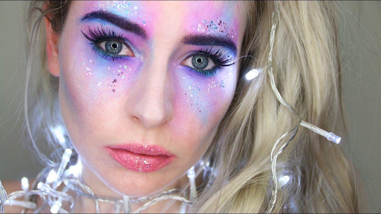 Unicorn Mermaid Fairy Halloween Makeup Tutorial Fairy Halloween Makeup Unicorn Makeup Halloween Beautiful Halloween Makeup