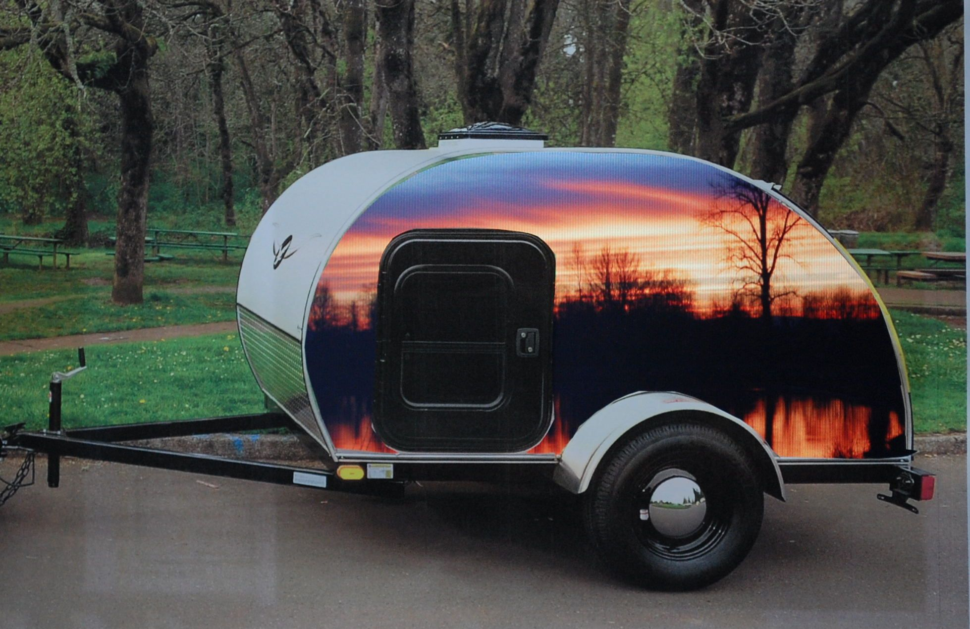 Posted in retro vintage tagged classic cars teardrop caravan vintage - Vintage Caravans Teardrop Trailers Http Teardropsnw Com Galleries Custom Art