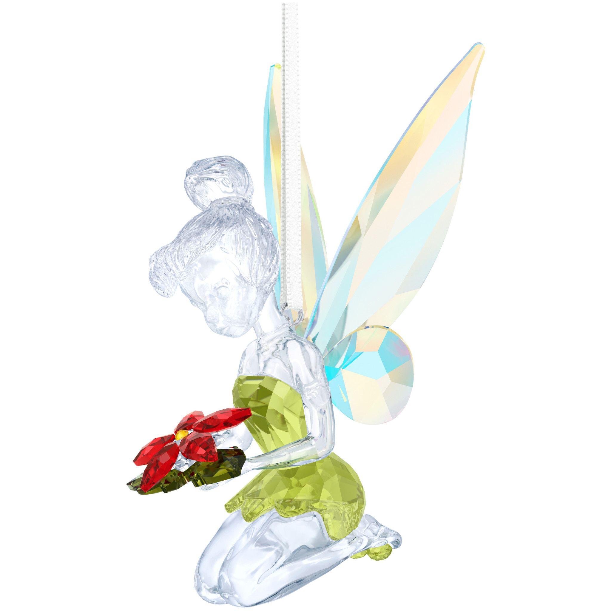 Swarovski Disney  Tinker Bell Christmas Ornament
