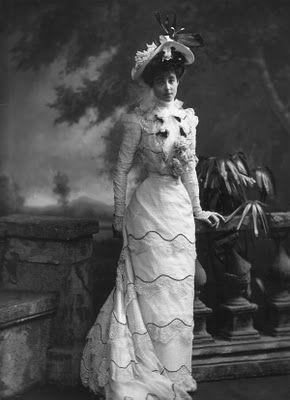 Consuelo Vanderbilt, Duchess of Marlborough, 1899.