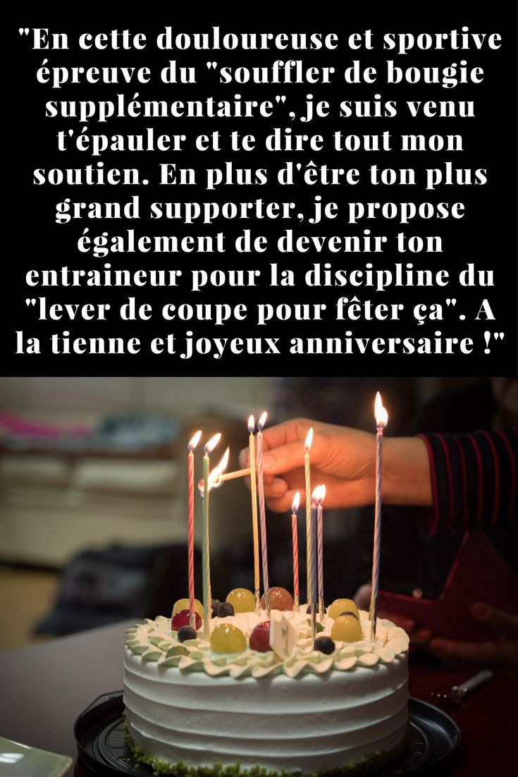 Message Original Anniversaire Humour